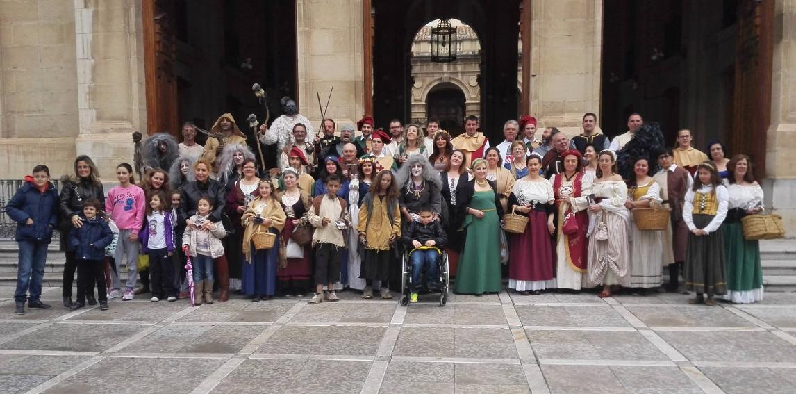 Sabiote invade la capital jiennense con sus Fiestas del Medievo