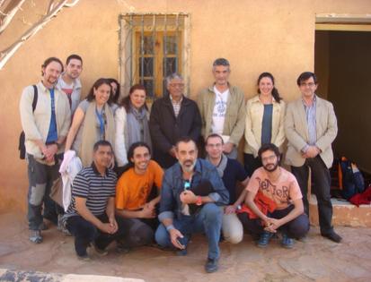 Grupo de la UJA en el Sáhara