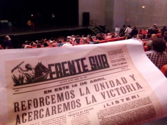 Miguel Hernández con acento jiennense. M.A.B. (Diario Guadalquivir)