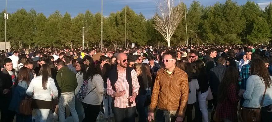 Fiesta de la primavera Jaén. M.A.B. Diario Guadalquivir