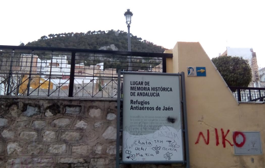 CRefugio antiaéreo de Jaén M.A.B. Diario Guadalquivir