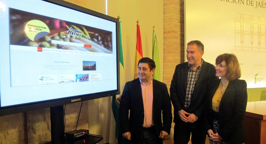 REYES, QUIROS Y VELASCO presentan la Tienda Online de la Diputación.