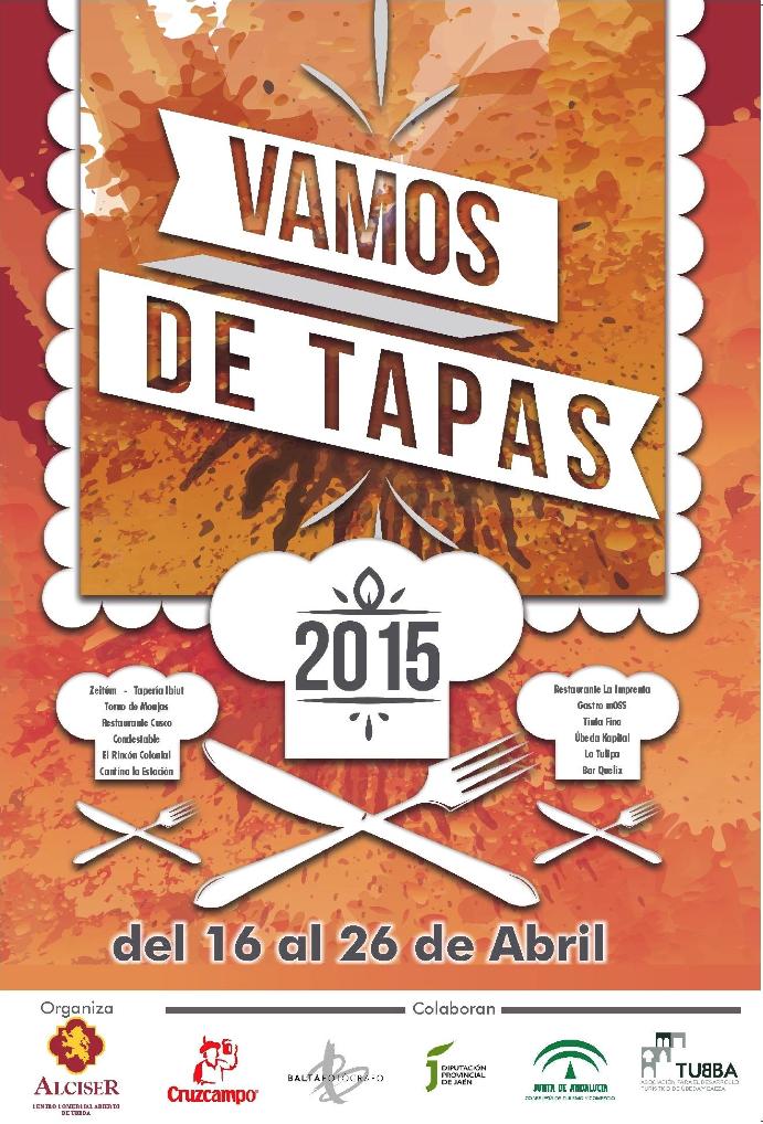 Cartel de la campaña Vamos de Tapas