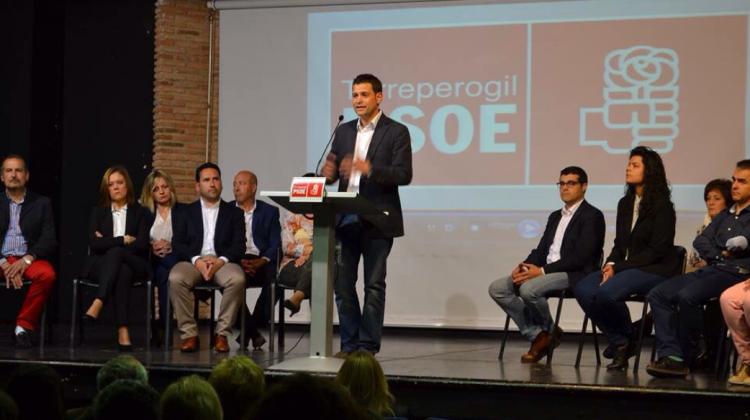 Discurso del candidato socialista José Ruiz en la presentación de la candidatura.