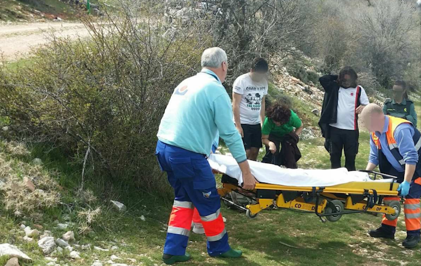 rescate Guardia Civil Bedmar