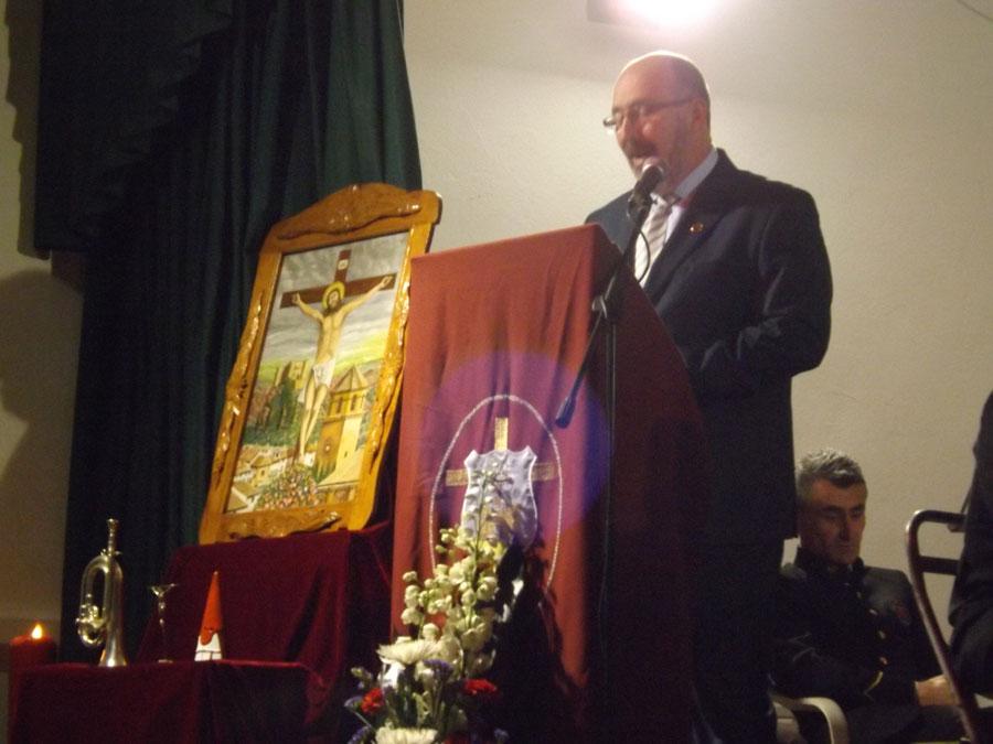 CRISTÓBAL GUZMÁN, PREGONERO DE LA SEMANA SANTA HUELMENSE 2015