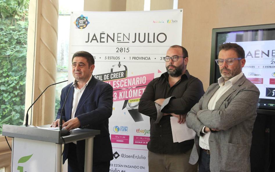 PRESENTACIÓN JAÉN EN JULIO MADRID
