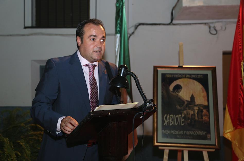 LUIS Miguel López alcalde de Sabiote