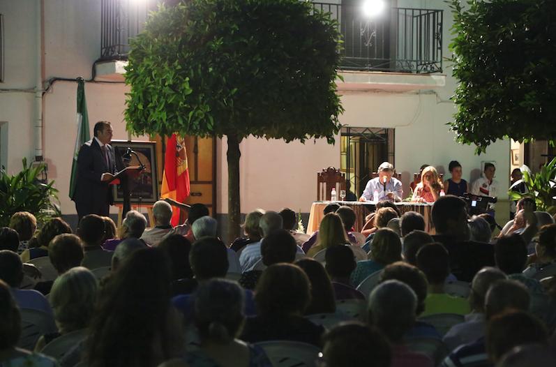 LUIS Miguel López alcalde de Sabiote pregon