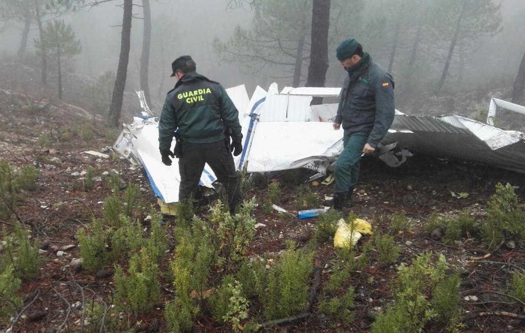 DIARIO GUADALQUIVIR ACCIDENTE AVIONETA SEGURA SIERRA BEAS JAEN guardia civil