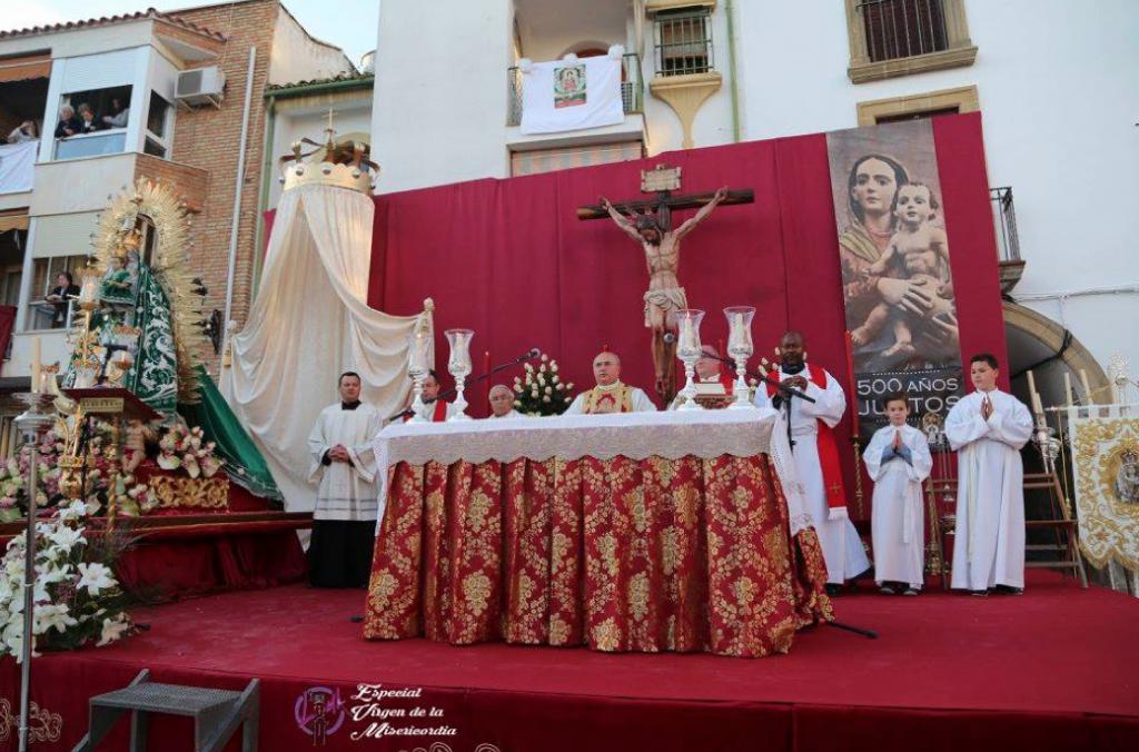 Diario Guadalquivir centenario misericordia altar torreperogil