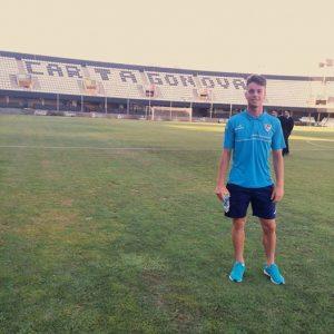 """Pekes"" en el Estadio Cartagonova (2ªB)"