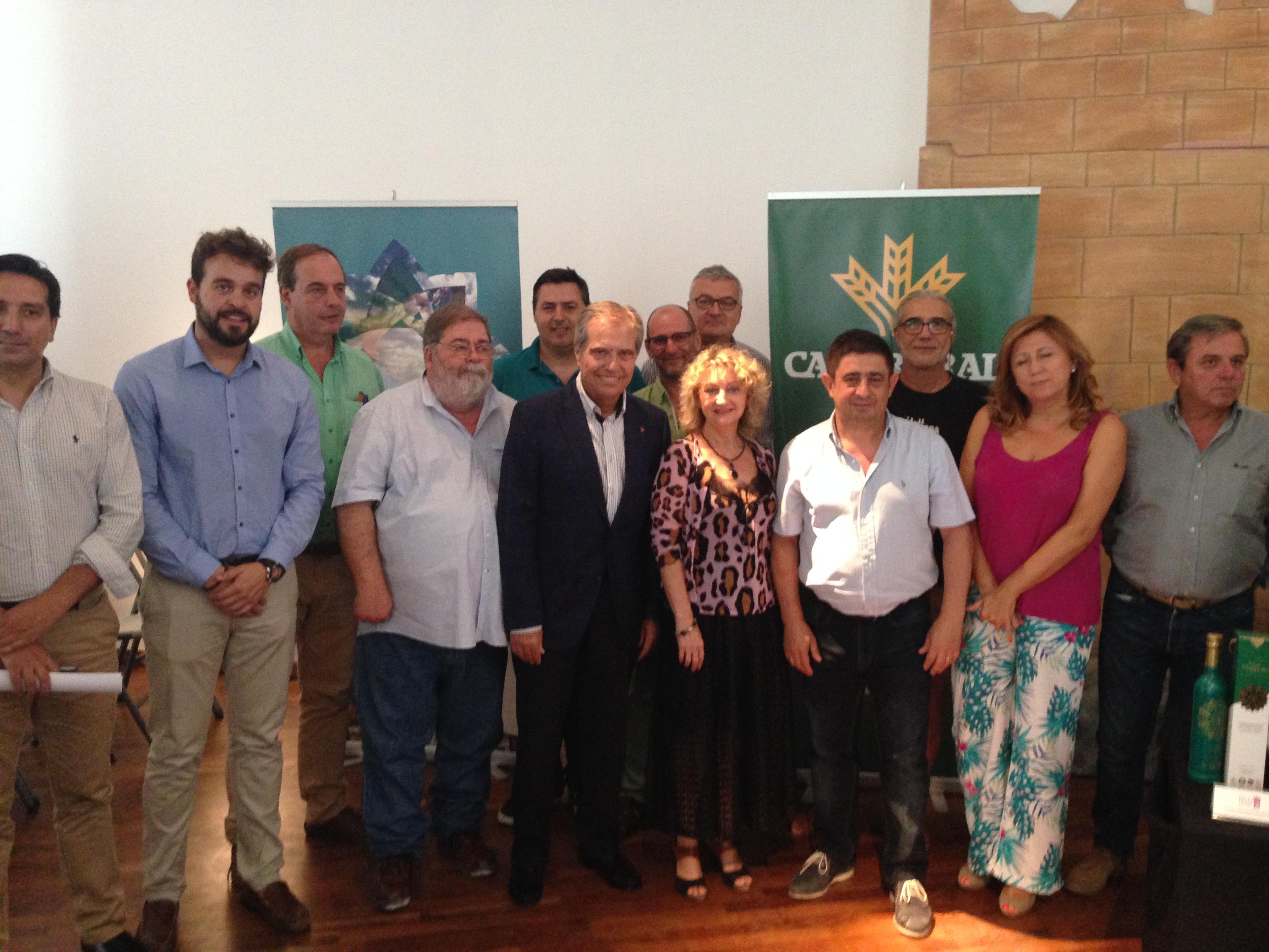 El presidente de la Diputación participa en la inauguración del I Campus Internacional de Arqueología de Bedmar