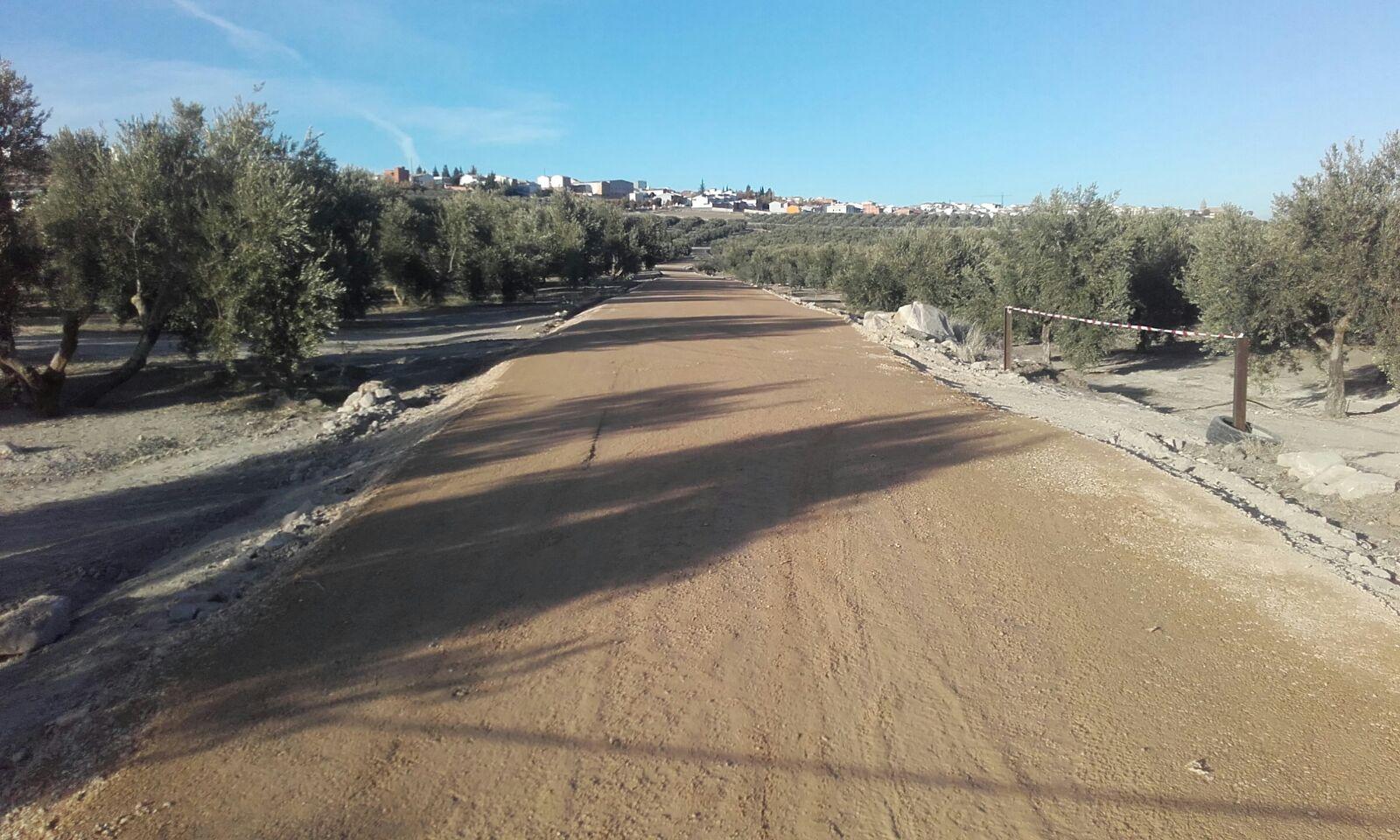 El Ayuntamiento de Sabiote recibirá más de 600.000 euros para la mejora de caminos agrícolas