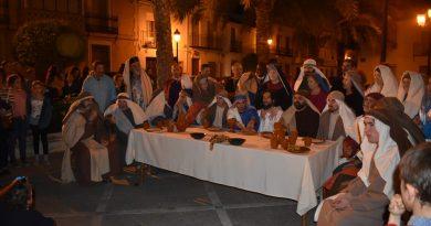 Las últimas horas de Cristo se vivieron en Villanueva