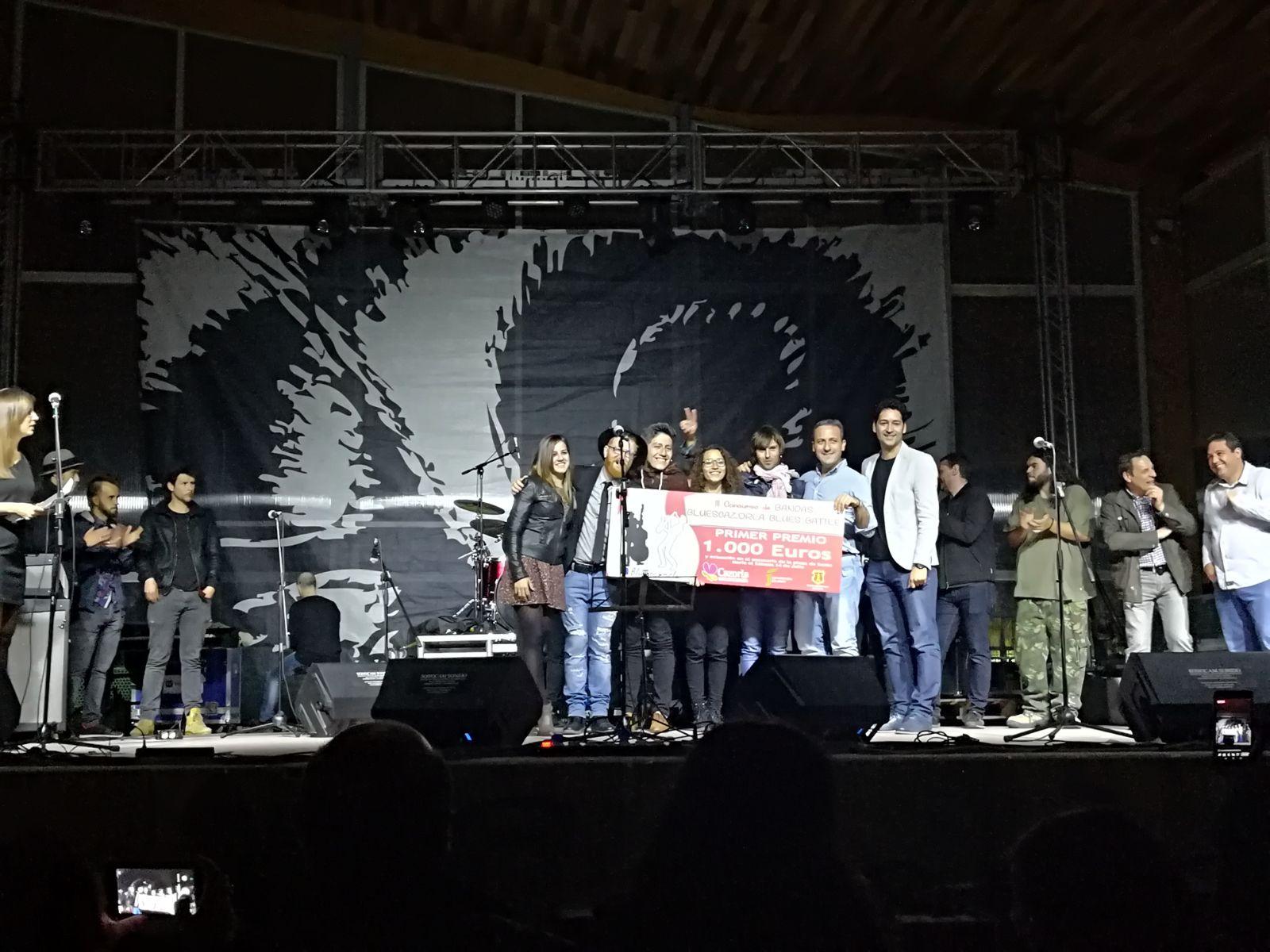Cazorla premia a las salas de conciertos de la provincia en su I Premio 'Bluescazorla Blues Battle'