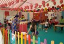 Casi 200 niños y 32 mujeres hacen uso de la ludoteca y de la sala de lactancia de la Feria de Mayo de La Carolina