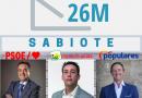 26M SABIOTE: Luis Miguel López (PSOE-A) gana las elecciones municipales, e IU-A recupera su concejal