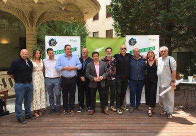 La acción promocional Jaén en julio de Diputación calienta motores con la presentación de sus cinco festivales en Madrid