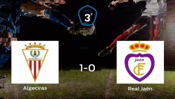 El Algeciras se adelanta en la semifinal después de ganar 1-0 al Real Jaén