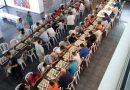 Sesenta jugadores se retan en la XXXII Copa Diputación de Ajedrez celebrada en La Carolina