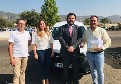 """El Ayuntamiento de Sabiote cuenta con un nuevo vehículo tipo """"furgoneta"""""""