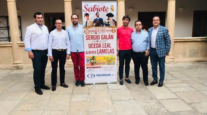 SABIOTE: Una corrida de toros mixta para la Feria y Fiestas en Honor a San Ginés de la Jara