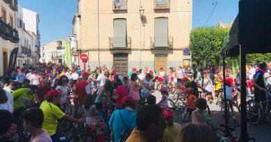 El XIII Dia de la bicicleta de Sabiote congrega a más de 300 participantes por un fin solidario
