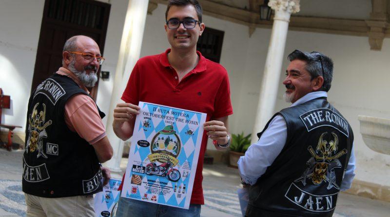 La ciudad de Úbeda se prepara para la ii edición de la ruta motera oktoberfest 'the ronin'