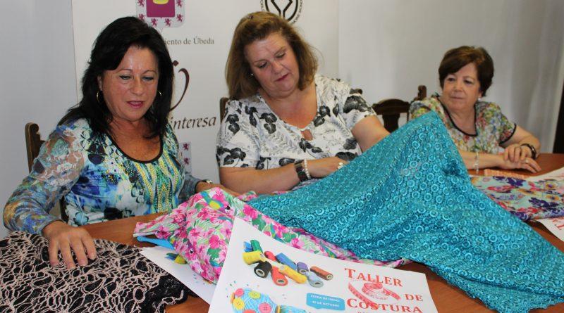 II Edición de los talleres de costura básica en Úbeda