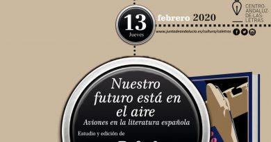 El Centro Andaluz de las Letras presenta el ensayo de Rafael Alarcón Sierra dentro del ciclo Letras Capitales