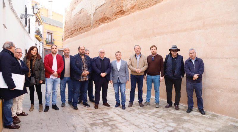 La Junta finaliza la restauración urgente de un tramo de la muralla de Andújar