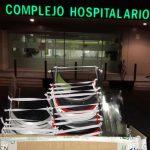 Diputación entrega medio centenar de mascarillas al Complejo Hospitalario de Jaén