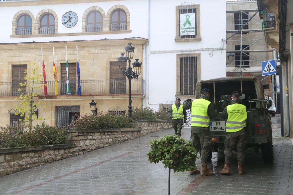 Fuerzas Armadas en Torreperogil