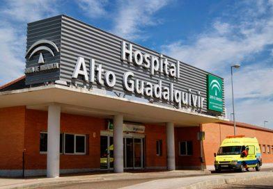 Cuatro heridos tras colisionar dos turismos en Andújar