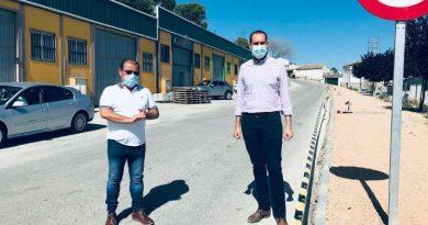 La Diputación invierte más de 100.000 euros en la mejora de la entrada a Arjona desde Jaén