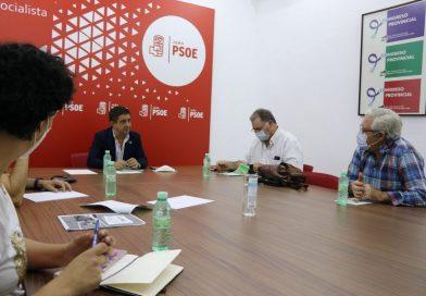 El Psoe de Jaén se reúne con la federación de caza de Jaén para analizar propuestas sobre la reforma de la PAC