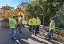 Fomento ultima la construcción de un acerado en la travesía de Beas de Segura