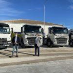 Resurja, empresa mixta participada por Diputación, invierte otros 381.000 euros en la mejora de su flota