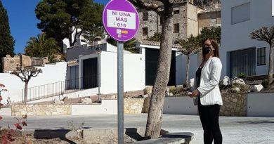 El Ayuntamiento de Bedmar-Garcíez instala señales de tráfico para concienciar a sus vecinos contra la violencia de género