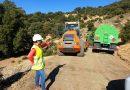 Desarrollo Sostenible impulsa obras de mejora en caminos forestales de Cambil y Torres