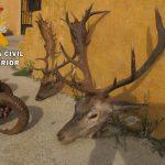 La Guardia Civil, investiga a tres personas, como presuntas autoras de los Delitos de Tenencia Ilícita de Armas y Protección de la Fauna