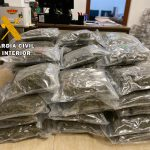 La Guardia Civil, ha detenido a una persona, como presunta autora de un Delito de Tráfico de Drogas