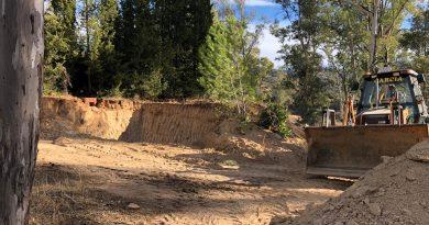 Andújar interviene en El Encinarejo para cumplir con la normativa sobre uso de playas de interior