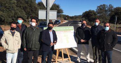 La Diputación destina 270.000 euros a la mejora de la carretera de acceso a Torres de Albanchez