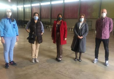 La Consejería de Salud activa un nuevo punto de vacunación en el 'Jaén Arena'