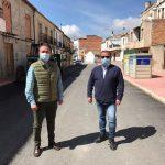 La Diputación Provincial invierte 120.000 euros en actuaciones de mejora en el casco urbano deSabiote