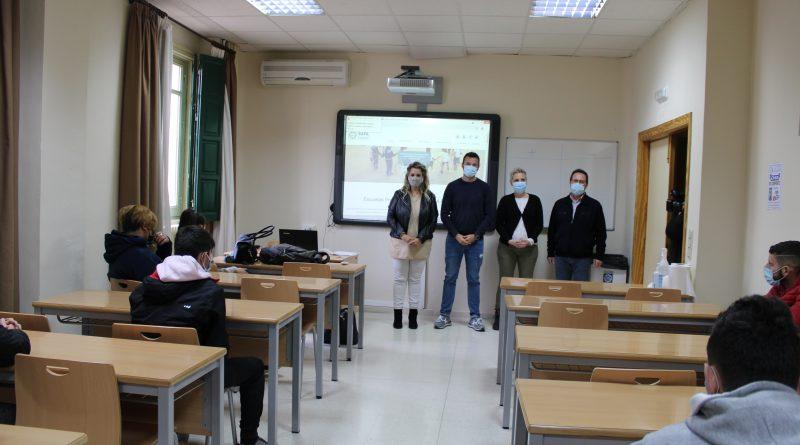 Úbeda  promueve, a través del programa ERACIS, talleres socioeducativos de prevención