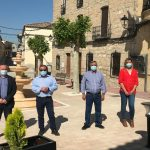 Diputación destina 700.000 euros a distintas actuaciones en infraestructuras de Cazalilla en los tres últimos años