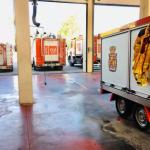 Los bomberos de Jaén cumplen su primera semana de huelga indefinida sin que haya habido contactos con el Ayuntamiento